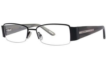 Nina Ricci NR2262F Single Vision Prescription Eyeglasses - Frame Black/Grey, Size 52/16mm NR2262F01
