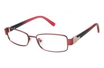 Nina Ricci NR2288CF Single Vision Prescription Eyeglasses - Frame DARK RED, Size 52/16mm NR2288CF04