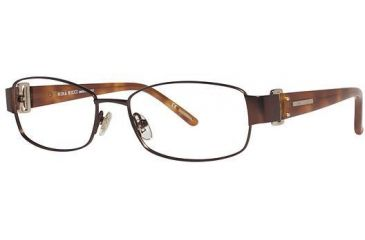 Nina Ricci NR2401 Progressive Prescription Eyeglasses - Frame Brown, Size 53/16mm NR2401F02