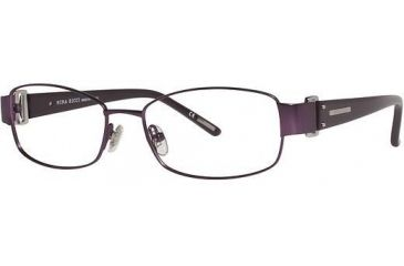 Nina Ricci NR2401 Progressive Prescription Eyeglasses - Frame Purple, Size 53/16mm NR2401F03