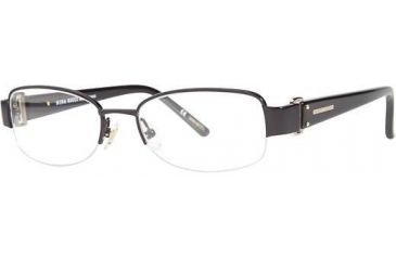 Nina Ricci NR2402 Progressive Prescription Eyeglasses - Frame Black NR2402F01