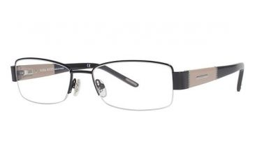 Nina Ricci NR2403 Progressive Prescription Eyeglasses - Frame Black/Beige NR2403F01