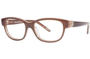 Nina Ricci NR2581 Single Vision Prescription Eyeglasses - Frame Brown, Size 53/15mm NR2581F02