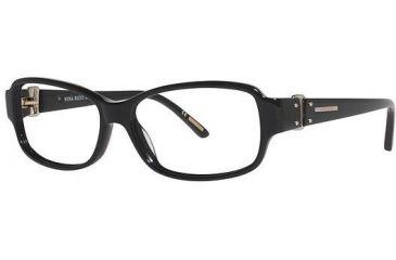 Nina Ricci NR2582 Single Vision Prescription Eyeglasses - Frame Black, Size 54/14mm NR2582F01