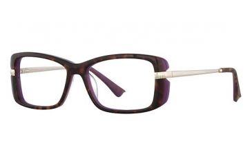 Nina Ricci NR2717 Single Vision Prescription Eyeglasses - Frame Tortoise/Purple, Size 53/15mm NR2717F02