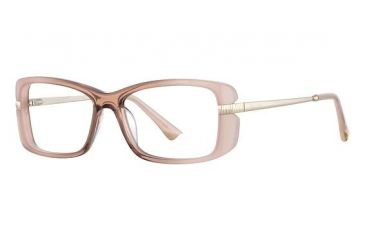Nina Ricci NR2717 Single Vision Prescription Eyeglasses - Frame Translucent Pink, Size 53/15mm NR2717F06