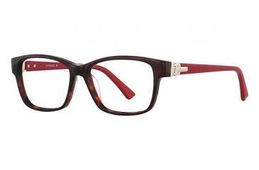 Nina Ricci NR2731 Progressive Prescription Eyeglasses - Frame Tortoise/Red, Size 52/14mm NR2731F03