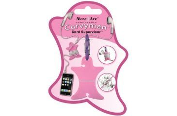 Nite Ize Curvyman Cord Organizer - Pink CVM-03-12