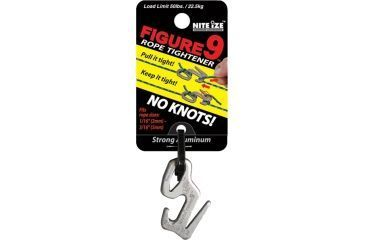Nite Ize F9S-02-09 Figure 9 Rope Tightener/Tensioning Tool - Small - Single Pack