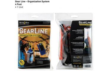 Nite Ize GearLine Organization System - 4in GLN4-M1-R8