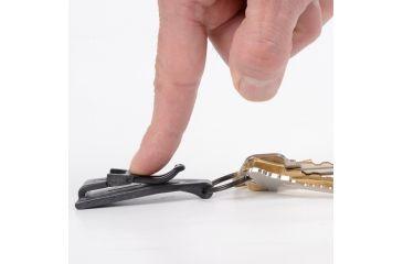 Nite Ize KeyCLIPse Pocket Clip Key Ring KSLC-01-R7
