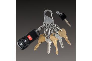 Nite Ize KeyRack Locker, Stainless KLK-11-R3