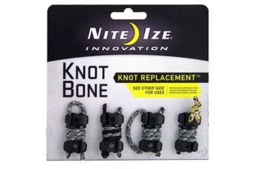 Nite Ize Knot Bone 3 4pack with Cord KB3 03 4PK