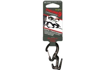 Nite Ize Small Carabiner Single Pack/Black Gates MC9S-02-01