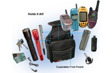 Nite Ize NMP-03-01 Multi Pock-Its Flashlight and Utility Holster w/ Belt Clip