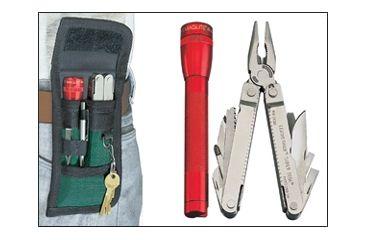 Nite Ize NPI-03-01 Black Pock-Its Flashlight and Utility Holster w/ Belt Clip