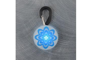 Nite Ize PetLit LED Collar Light, White LED, Blue Burst PCL02-03-03PS