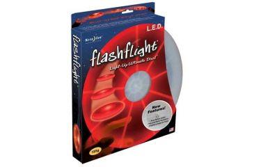 Nite Ize FlashFlight LED Illuminated Flying Disc Red