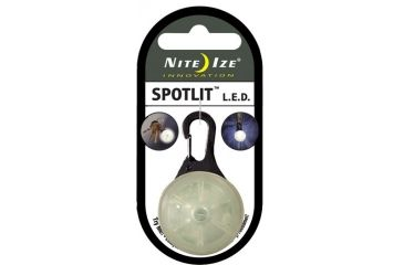 Nite Ize SpotLit LED Clip On Safety Light White SLG-03-02