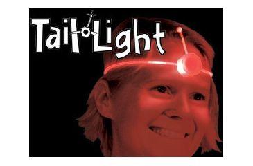 Nite Ize Tail Lights - LED Light Up Adjustable Headband Fits All Sizes
