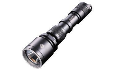 Nitecore MH25 860 Lumens LED Rechargeable Flashlight - CREE XM-L U2 LED, Black NITECORE-MH25-SMO