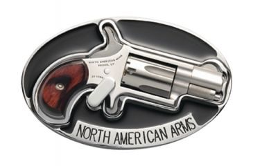 North American Arms Belt Buckle Holster With Lever For NAA .22 Long Rifle Revolver