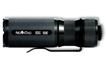 Novatac Everyday Use LED Flashlight 120E Black