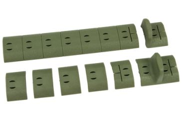 Noveske NSR Polymer Panel Set Foliage Green