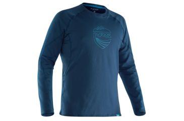 53d007784 NRS H2Core Lightweight Shirt - Men's, Moroccan Blue, XXL 10124.01.104