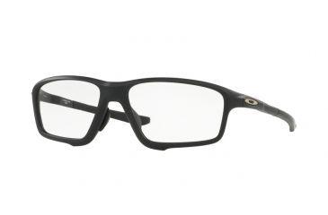 2dc9818dbffd ... czech oakley a crosslink zero ox8080 eyeglass frames 808007 58 satin  black frame clear 68520 e2a2e ...