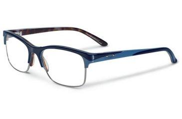 Oakley Allegation Eyeglasses, Blue Tortoise, 53.7 mm OX1090-0252