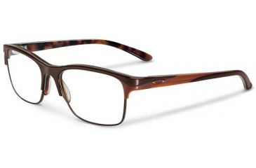 Oakley Allegation Eyeglasses, Brown Tortoise, 53.7 mm OX1090-0652