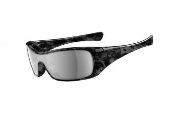 Oakley Antix Black Tortoise Frame w/ Black Iridium Lenses Men's Sunglasses 03-701