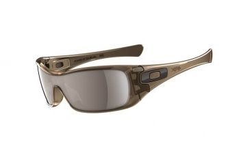 Oakley Antix Brown Smoke Frame w/ Tungsten Iridium Polarized Lenses Men's Sunglasses 12-960
