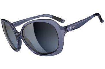 Oakley Backhand Sunglasses, Crystal Black OO9178-12-RX
