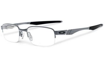 Oakley Backwind 0.5 Eyeglasses, Satin Grey, 51.2 mm OX3163-0150