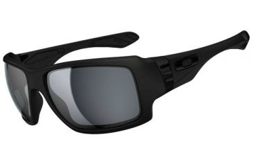 Oakley Big Taco Sunglasses, Matte Black OO9173-04-RX