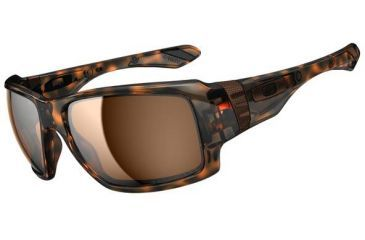 Oakley Big Taco Sunglasses, Brown Tortoise OO9173-05