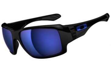 Oakley Big Taco Sunglasses, Polished Black OO9173-06-RX