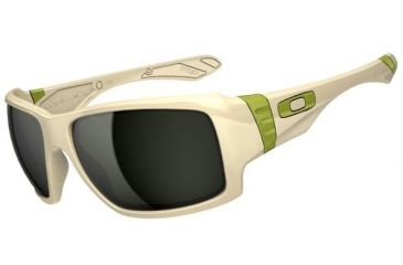 Oakley Big Taco Sunglasses, Matte Bone OO9173-07-RX