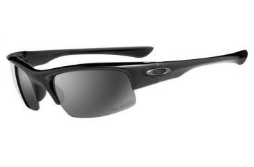 63212148297 Oakley Bottle Cap Polished Black Frame w  Black Iridium Polarized Lenses  Sunglasses 12-854