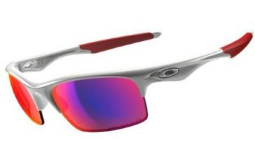 Oakley Bottle Rocket Single Vision Prescription Sunglasses - Polished White Frame OO9164-04