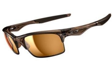 Oakley Bottle Rocket Single Vision Prescription Sunglasses - Brown Smoke Frame OO9164-05