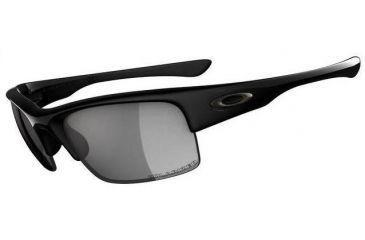 3dc39e25b5 Oakley Bottlecap XL Polished Black Frame w  Grey Polarized Lenses Sunglasses  04-212