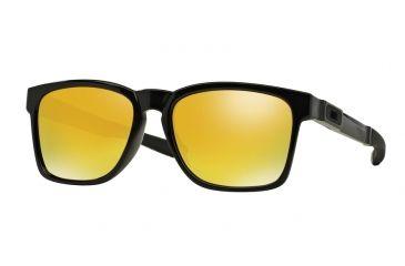 9020826aa6 Oakley CATALYST OO9272 Sunglasses 927204-55 - Polished Black Frame
