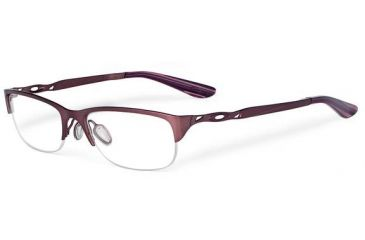 Oakley Chain Ring Eyeglasses, Brushed Berry OX5074-0351-RX