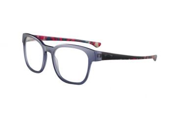 Oakley Cloverleaf 53mm Navy Crazy Men's Bifocal Progressive Prescription Glasses  OX1078-0553