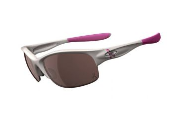 Oakley Commit SQ Women's Breast Cancer Polished White  Bifocal Rx Sunglasses 24-176