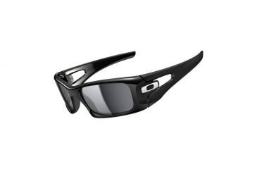 Oakley Crankcase Polished Black Frame w/ Black Iridium Polarized Lenses Men's Sunglasses OO9165-08