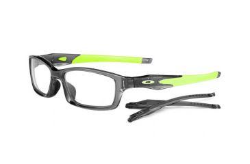 Oakley Crosslink 53mm Grey Smoke/Retina Burn Men's Eyeglass Frames w/ Blank Lenses OX8027-0253